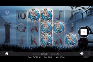 NetEnt Vikings Slot Win