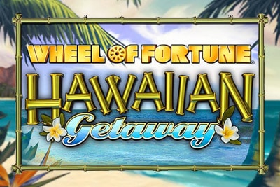 Wheel of Fortune Hawaiian Getaway Mobile Slot Logo