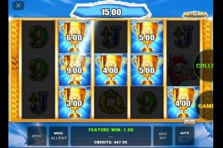 Arctic Race Mobile Slot Bonus Win