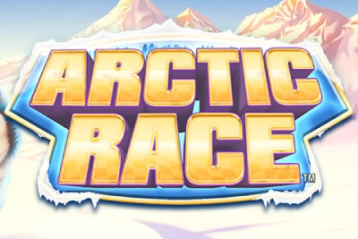 Arctic Race Mobile Slot Logo