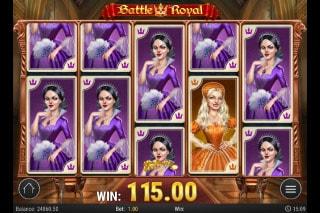 Battle Royal Mobile Slot Big Win