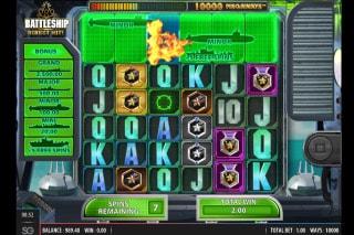 Battleship Direct Hit Slot Bonus Game