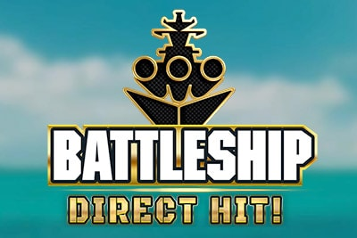 Battleship Direct Hit Mobile Slot Logo