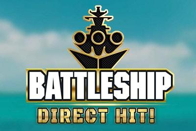 Battleship Direct Hit Mobile Slot Logo