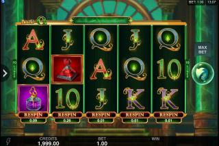 Book of Oz Mobile Slot Machine