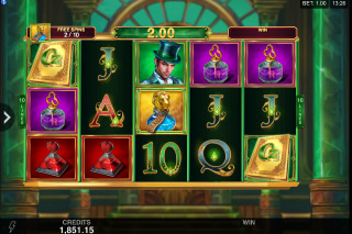 Book of Oz Mobile Slot Free Spins Game