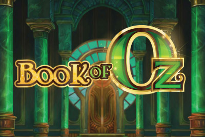 Book of Oz Mobile Slot Logo