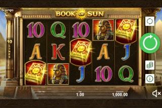 Book of Sun Mobile Slot Game