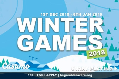Start Playing In The Casumo Winter Games 2018
