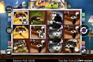 Colin The Cat Video Slot
