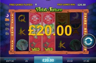 Fields of Fortune Slot Free Games Win