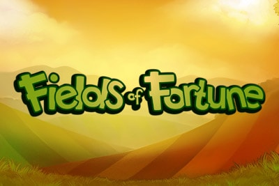 Fields of Fortune Mobile Slot Logo