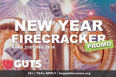 Guts Casino New Year Firecracker Promotion