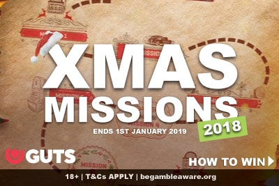 Guts Casino Xmas Missions 2018