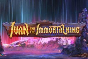 Ivan and the Immortal King Mobile Slot Logo