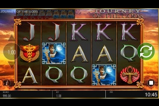Journey of the Gods Mobile Slot Game