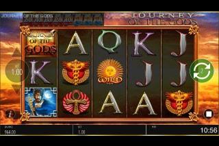 Journey of the Gods Slot Symbols