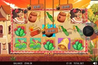 La Bomba Mobile Slot Bonus Game