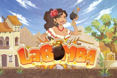 La Bomba Mobile Slot Logo