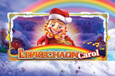 Leprechaun Carol Mobile Slot Logo