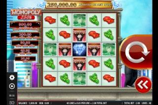 Monopoly 250K Mobile Slot Machine