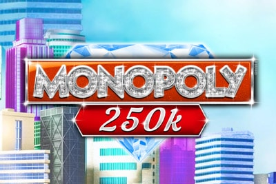 Monopoly 250K Mobile Slot Logo