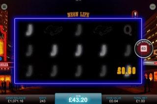 Neon Life Mobile Slot Big Win