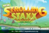 New NetEnt Strolling Staxx Cubic Fruits Mobile Slot