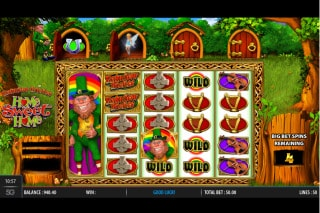 Rainbow Riches Home Sweet Home Slot Free Spins