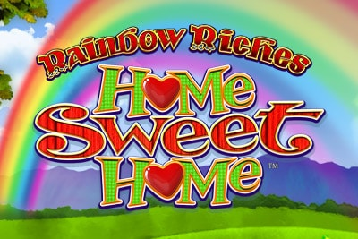 Rainbow Riches Home Sweet Home Mobile Slot Logo