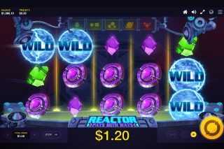 Reactor Mobile Slot Bonus Features