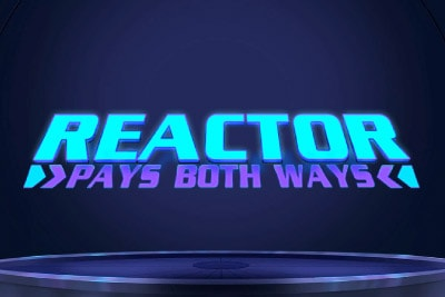 Reactor Mobile Slot Logo