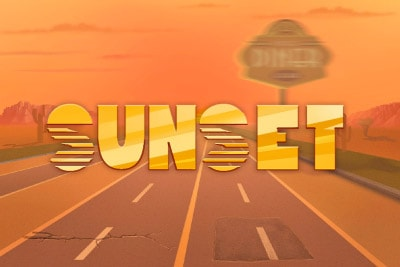 Sunset Mobile Slot Logo