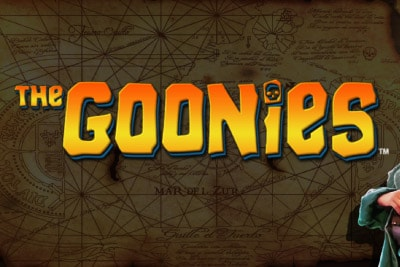 The Goonies Mobile Slot Logo
