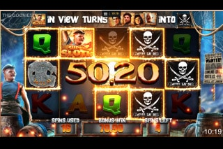 The Goonies Slot Sloth Bonus Win