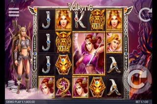 Valkyrie Mobile Slot Game