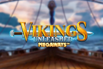 Vikings Unleashed Megaways Mobile Slot Logo