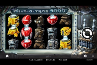 Wild O Tron 3000 Mobile Slot Game