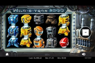 Wild O Tron 3000 Mobile Slot Machine