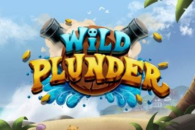 Wild Plunder Mobile Slot Logo