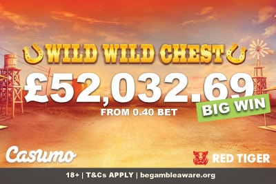 Wild Wild Chest Slot Big Win At Casumo UK Casino