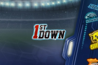1st Down Mobile Slot Logo