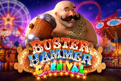 Buster Hammer Carnival Mobile Slot Logo