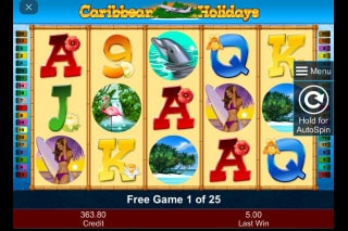 Caribbean Holidays Slot Free Spins
