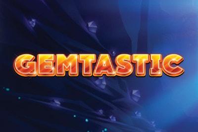 Gemtastic Mobile Slot Logo