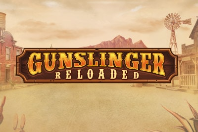 Gunslinger Reloaded Mobile Slot Logo