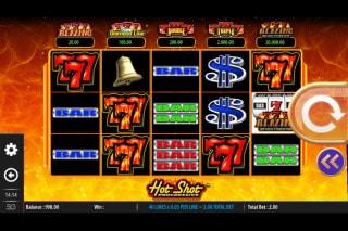 Hot Shot Progressive Mobile Slot Machine