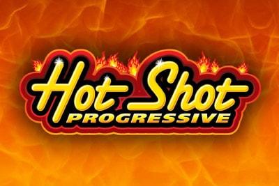 Hot Shot Progressive Mobile Slot Logo