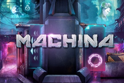 Machina Mobile Slot Logo