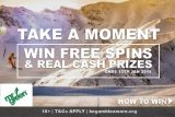 Win Free Spins In The Mr Green Casino Take A Moment Promotion